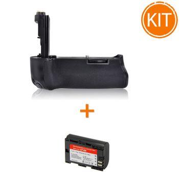 Kit-Meike-MK-7D-MK-III-Grip-pentru-Canon---Acumulator-Power3000-tip-Canon-LP-E6