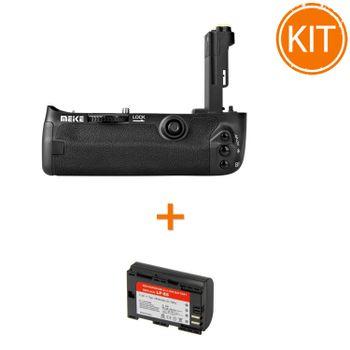 Kit-Meike-MK-5DS-Pro-Grip-pentru-Canon---Acumulator-Power3000-tip-Canon-LP-E6