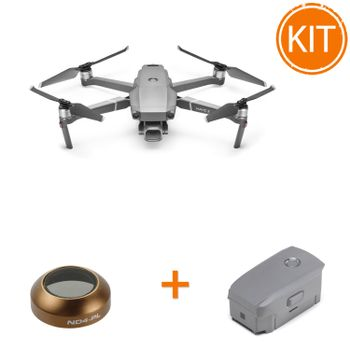 Kit-DJI-Mavic-2-Pro---DJI-Mavic-2-Baterie-Inteligenta-de-Zbor---Polar-Pro-Cinema-Series-Filtru-ND4-PL