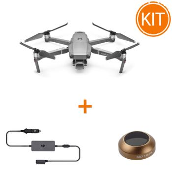 Kit-DJI-Mavic-2-Pro---DJI-Mavic-2-Incarcator-pentru-Masina---Polar-Pro-Cinema-Series-Filtru-ND16-PL