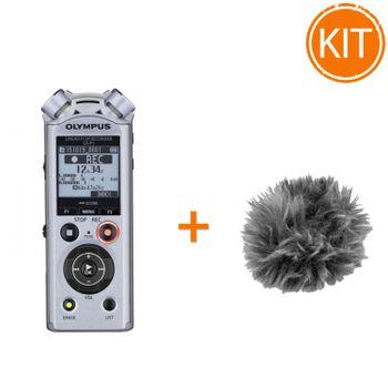 Kit-Olympus-LS-P1-Reportofon-Digital---Protectie-vant-Olympus-WJ2