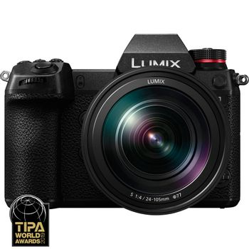 Panasonic-Lumix-S1-24MP-Kit-cu-Obiectiv-24-105mm-F4-DC-S1ME-K