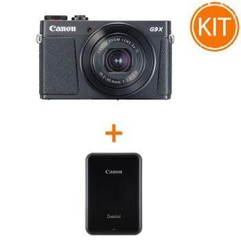 Kit-Canon-Powershot-G9X-Mark-II-Negru---Imprimanta-Foto-Canon-Zoemini