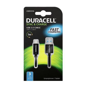 Duracell-Cablu-de-Date-USB-A-la-USB-C-1m