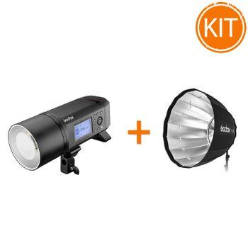 Kit-Blit-Portabil-Godox-AD600-Pro-TTL---Softbox-Parabolic-Termorezistent-120cm