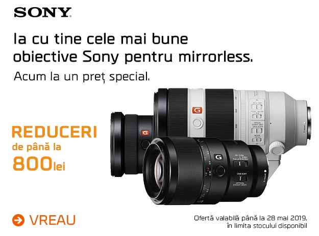 Sony Obiective - MOBILE