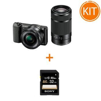 Kit-Sony-A5100-cu-Obiectiv-16-50-F3.5-5.6-OSS-si-55-210-F4.5-6