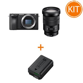 Kit-Sony-A6500----Sony-NP-FW50