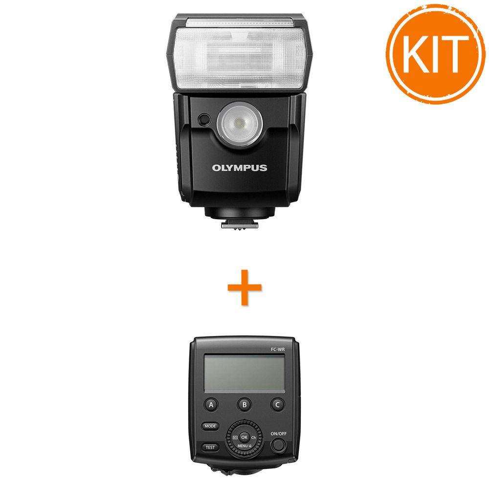 Kit-Blit-Olympus-FL-700WR-si-Transmitator-Wireless--Blit-FR-WR