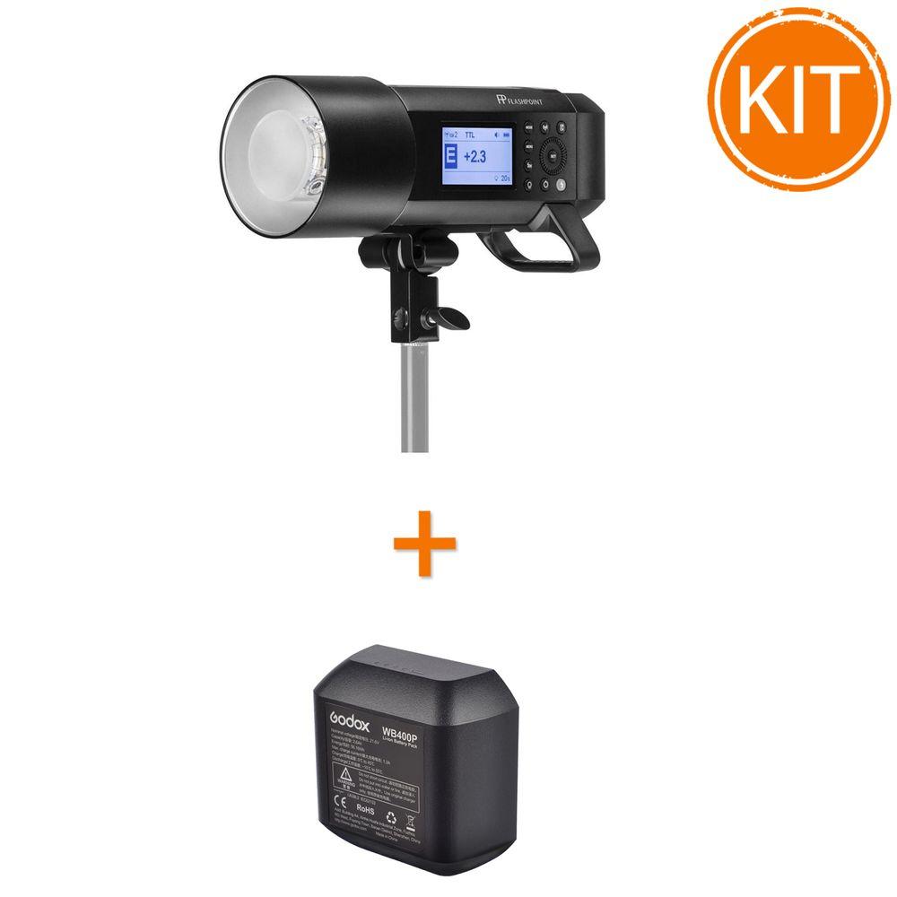 Kit-Blit-Portabil-Godox-AD400-Pro-400Ws-TTL---Acumulator-de-rezerva-Godox-WB400P