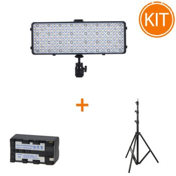 Kit-lumina-portabila---Lampa-Video-VL-320RGB---Acumulator-suplimentar-4100mAh---Stativ-TP-280AS-AUTO-2
