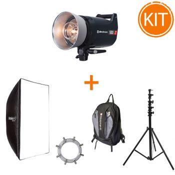 Kit-Blit-studio-Elinchrom-ELC-Pro-HD-500W---Softbox-Rotalux-120cm---Stativ-4