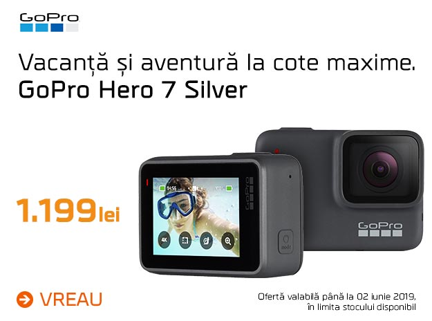GoPro 7 silver - mobile