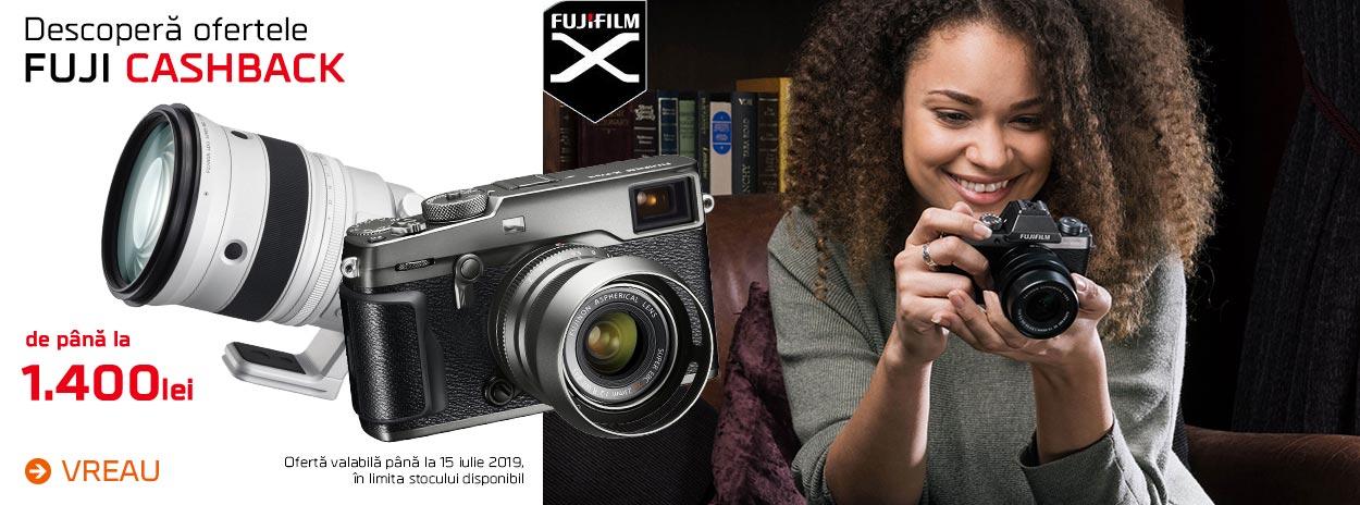 Fujifilm - Cashback