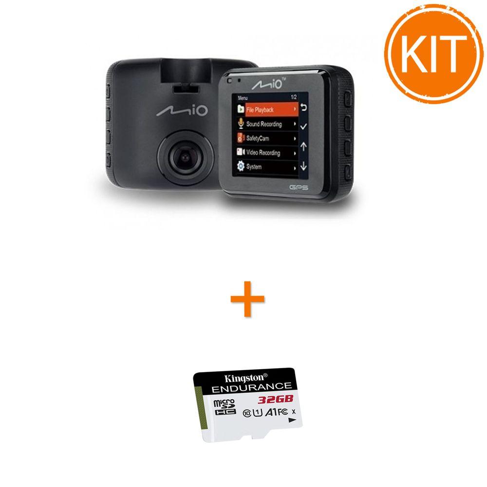 Kit-Mio-MiVue-C330----Card-microSDHC-Kingston-32GB-Endurance