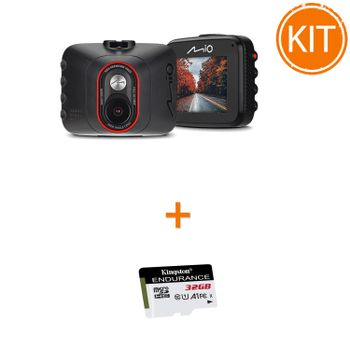 Kit-Mio-MiVue-C312---Card-microSDHC-Kingston-32GB-Endurance