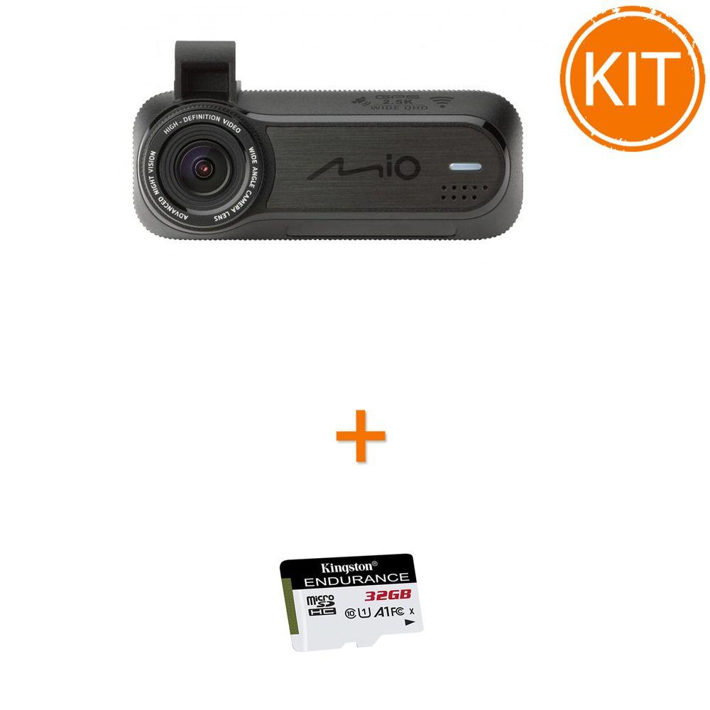 Kit-Mio-MiVue-J85----Card--microSDHC-Kingston-32GB-Endurance