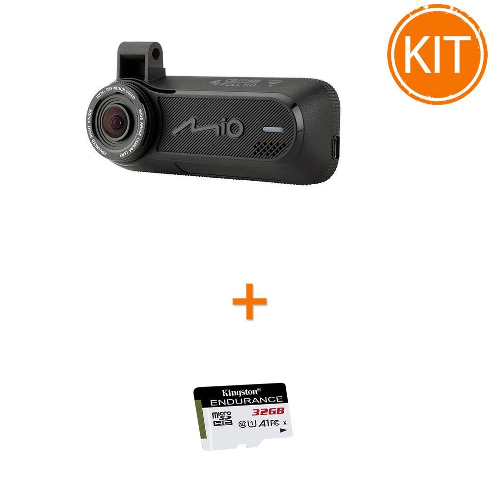 Kit-Mio-MiVue-J60-----Card-microSDHC-Kingston-32GB-Endurance