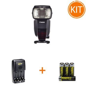 Kit-Blit-Canon-600EX-II-RT---Maha-Incarcator-MH-C204-si-set-4-acumualtori-2700mAh