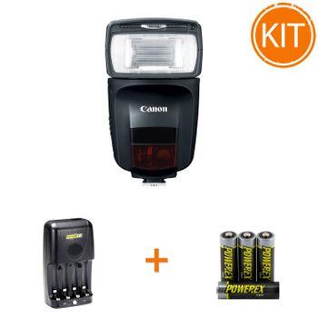 Kit-Blit-Canon-470EX---Maha-Incarcator-MH-C204-si-set-4-acumualtori-2700mAh