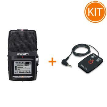 Kit-ZOOM-H2n-Reportofon-profesional---Telecomanda-cu-fir