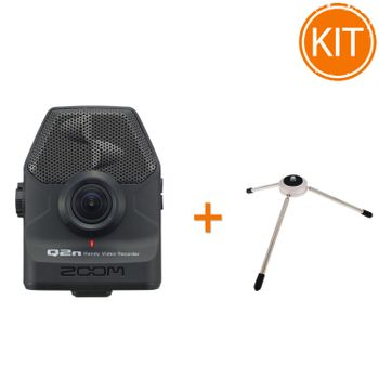 Kit-Zoom-Q2n-Handy-Video-Recorder---Minitrepied-Zoom-TPS-3