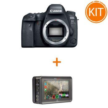 Kit-Canon-EOS-6D-Mark-II-Body---Recorder-Atomos-Ninja-Blade
