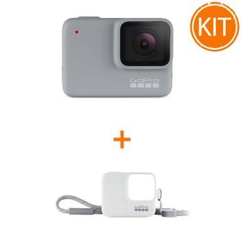 Kit-GoPro-HERO7-White---GoPro---Sleeve---Lanyard