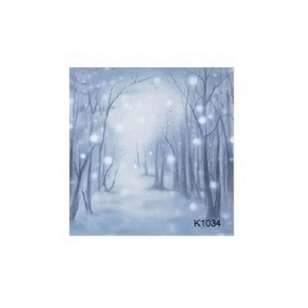 Kathay-K1034-Fundal-Textil-Pictat-cu-Peisaj-de-Iarna-3x6m