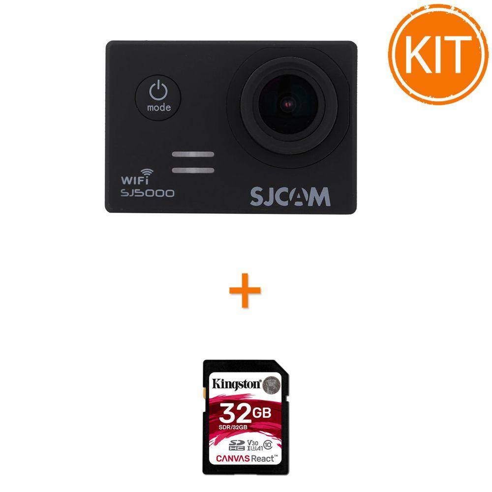 Kit-SJCAM-SJ5000-Wi-Fi---Kingston-32GB-SDHC-Canvas-Reaction