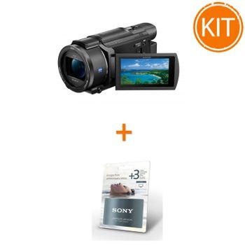 Pachet-Sony-Handycam-FDR-AX53-Camera-Video-Compacta-Premium-4K---Garantie-Extinsa-3-Ani