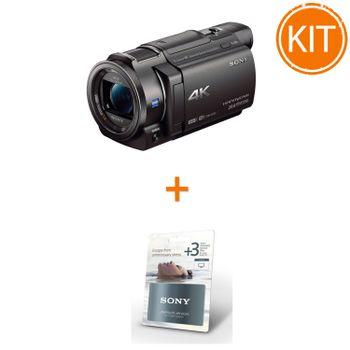 Pachet-Sony-Handycam-FDR-AX33-Camera-Video-4K---Garantie-Extinsa-3-Ani