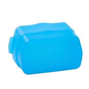 Top-Quality-Godox-softbox-Flash-Diffuser-Blue-Bounce-Dome-For-Canon-580EX-580EX-II-Yongnuo-YN