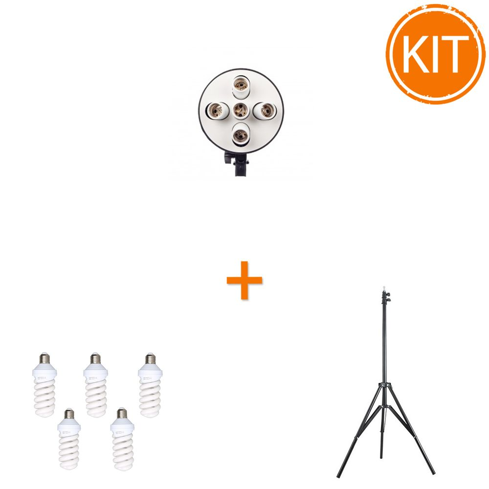Lampa-cu-5-Becuri-Fluo-45W-E27-si-Stativ-1