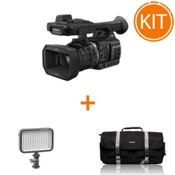 Kit-Video-Profesional-Eveniment-cu-Camera-Panasonic-HC-X1000-4K---Lampa-Video-320-lucsi---Geanta-Video