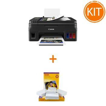 Kit-Canon-PIXMA-G4411----Kodak-Premium-Glossy