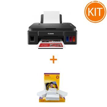 Kit-Canon-PIXMA-G3411-----Kodak-Premium-Glossy