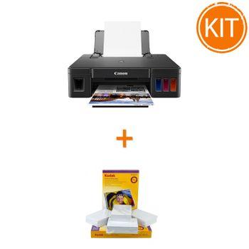 Kit-Canon-PIXMA-G1411---Kodak-Premium-Glossy