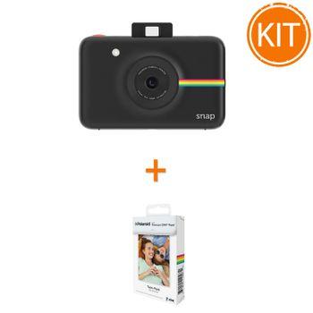 Kit-Aparat-Foto-Polaroid-Instant-Snap-Digital-Negru---Polaroid-Instant-Zink-PremiumPachet-20-Hartii-Foto