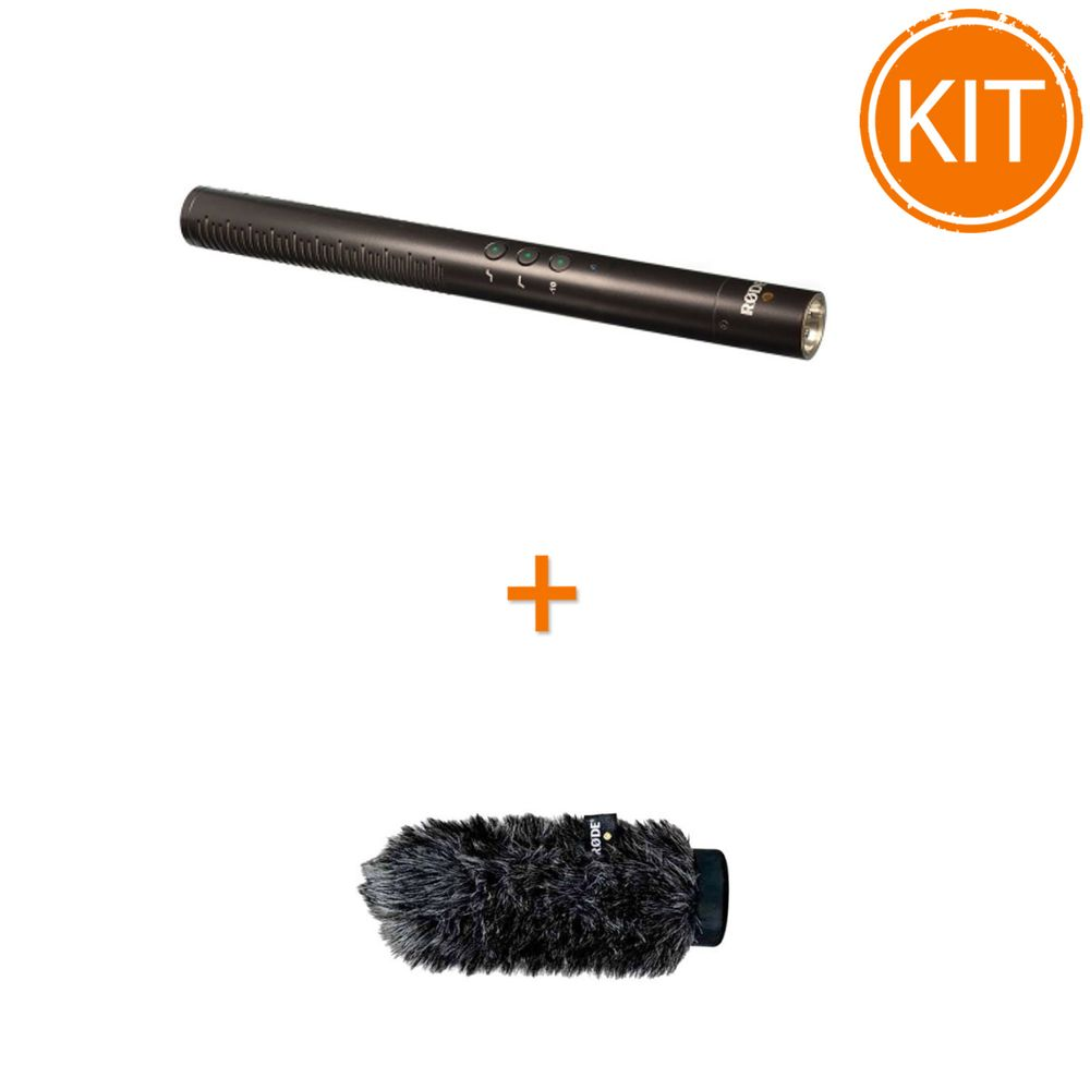 Kit-Microfon-Shotgun-Rode-NTG4---Antivant-Rode-WS6