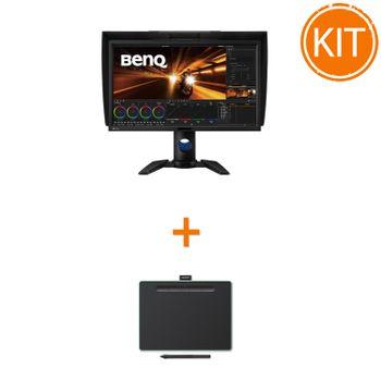 Kit-Monitor-BenQ-PV270---Tableta-Grafica-Wacom-Intuos-M