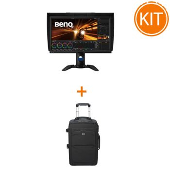 Kit-Monitor-BenQ-PV270---Troller-Foto-Lowepro-Pro-x200-AW