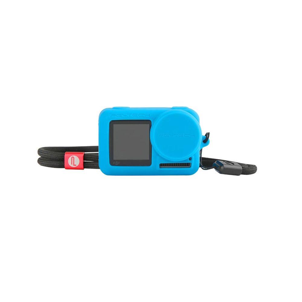 Pgytech-Husa-Protectie-Silicon-pentru-Osmo-Action-Albastru