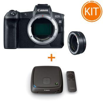 Kit-Canon-EOS-R-cu-Inel-Adaptor-Montura-EF---Statie-Conectare-Canon-CS100--1TB