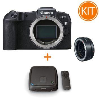 Kit-Canon-EOS-RP-cu-Inel-Adaptor-Montura-EF--Statie-Conectare-Canon-CS100--1TB