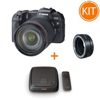 Kit-Canon-EOS-RP-cu-Obiectiv-RF-24-105mm-si-Inel-Adaptor-EF---Statie-Conectare-Canon-CS100-1TB
