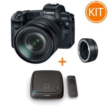 Kit-Canon-EOS-R-cu-Obiectiv-RF24-105mm-si-Inel-Adaptor--EF---Statie-Conectare-Canon-CS100--1TB