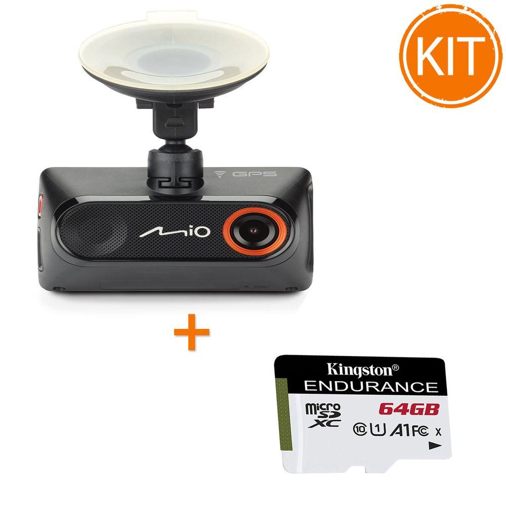Kit-Mio-MiVue-786-WIFI---Kingston-Endurance-64GB