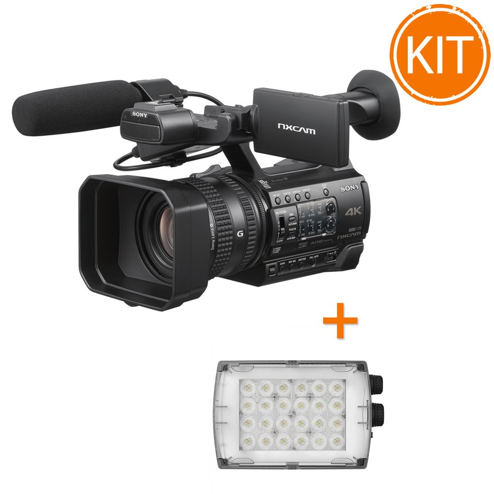Kit-Video-Profesional-Camera-Video-Sony-HXR-NX200-si-Lampa-Manfrotto--Croma-2