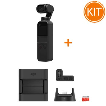Kit-DJI-Osmo-Pocket-Gimbal-cu-Stabilizare-pe-3-Axe---DJI-Expansion-Kit